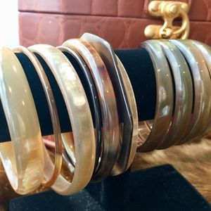 Jewelry - Set of Lucite Bangles